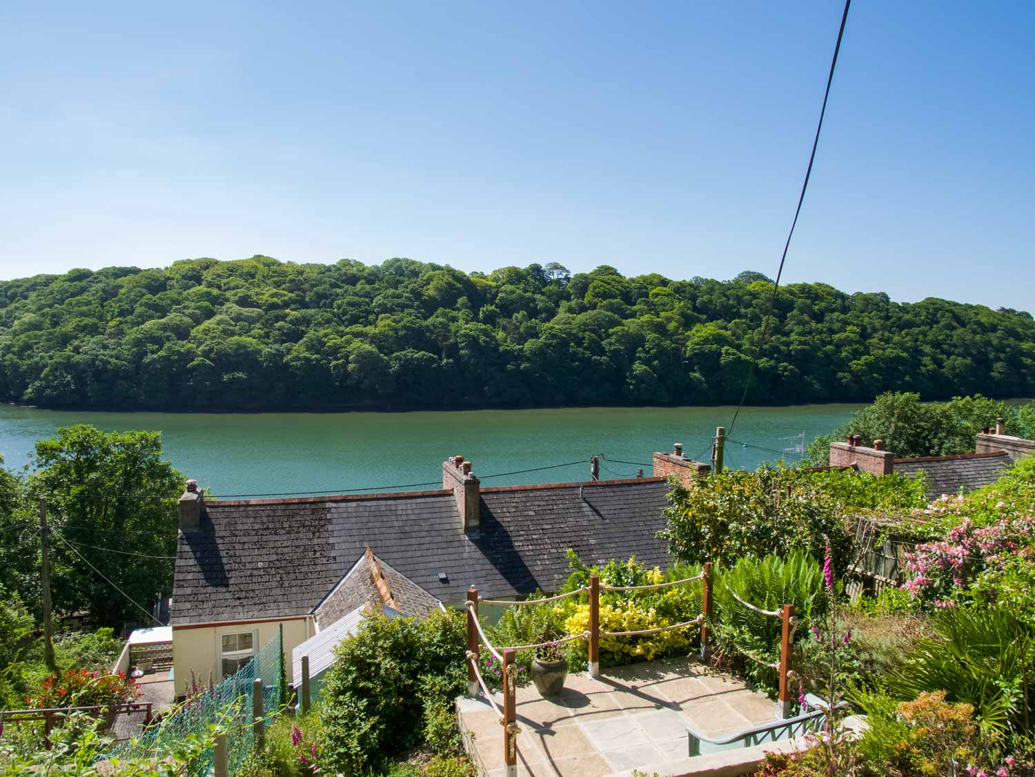 Oysters Terraced Garden View of the Malpas River