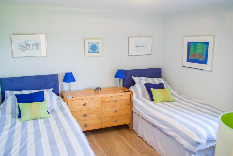 Parc Vean Twin Bedroom