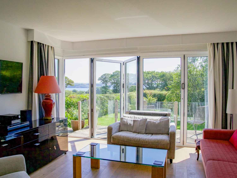 Parc Vean Living Room & View