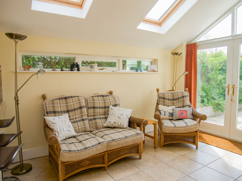 Pixies Cottage Kitchen Seating Area