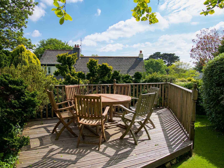 Pixies Cottage Garden Seating Area