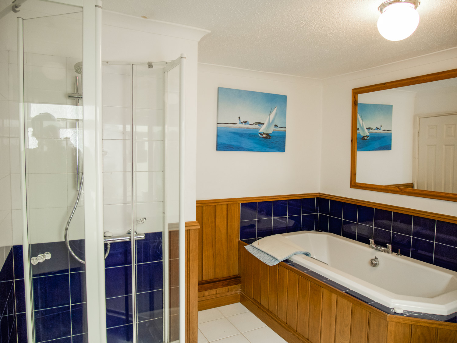 Riversdale Family Bathroom, Shower and Bath