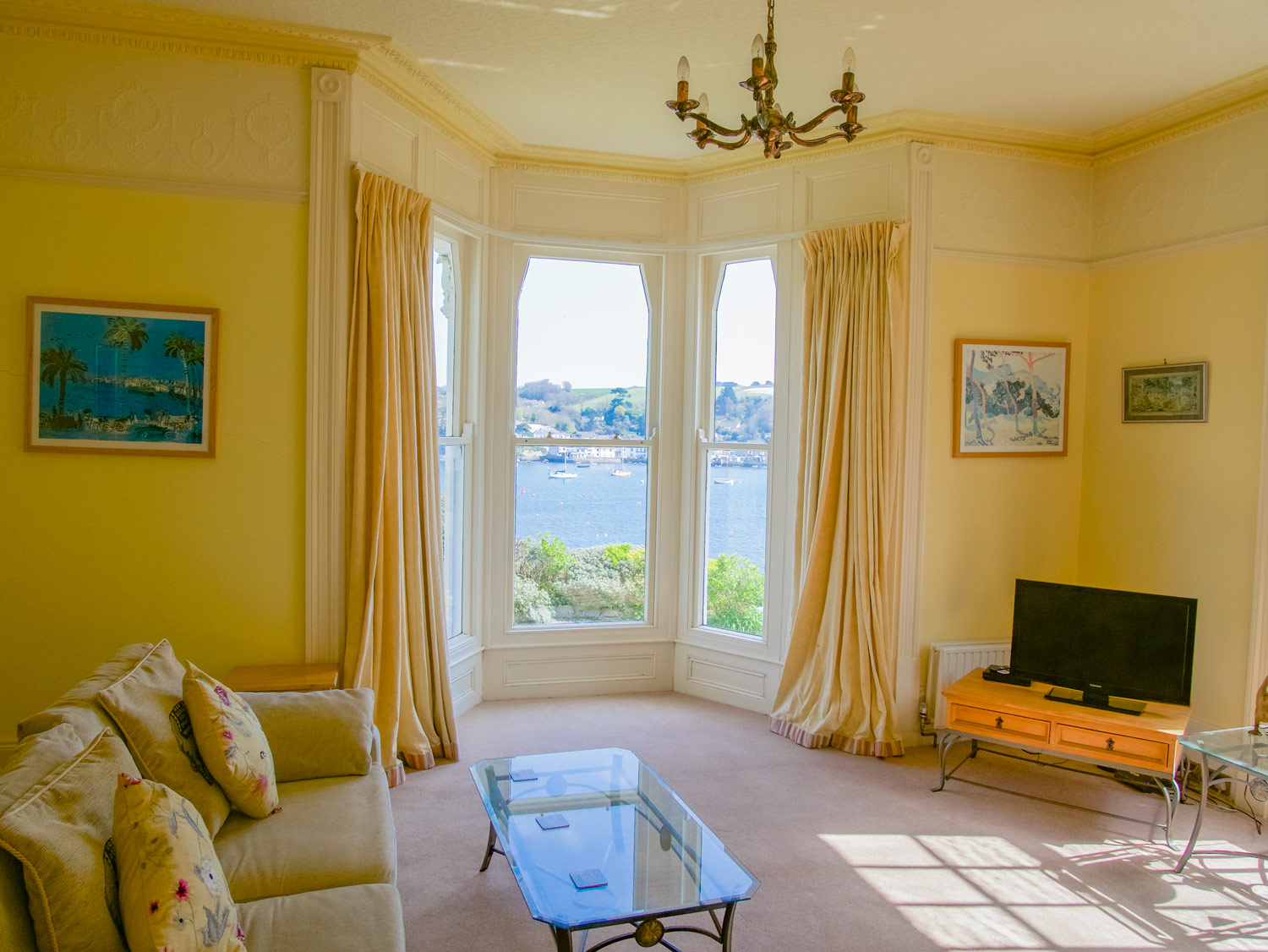 Riversdale Living Room with Sea Views