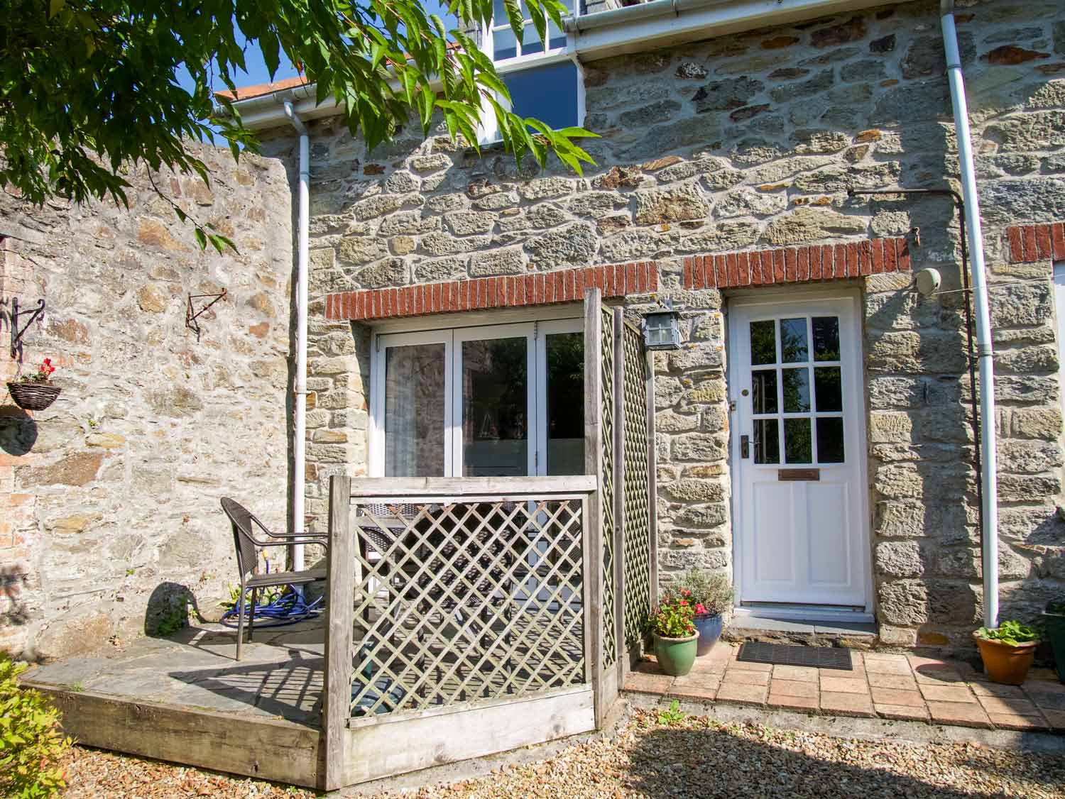 Stable Cottage Exterior