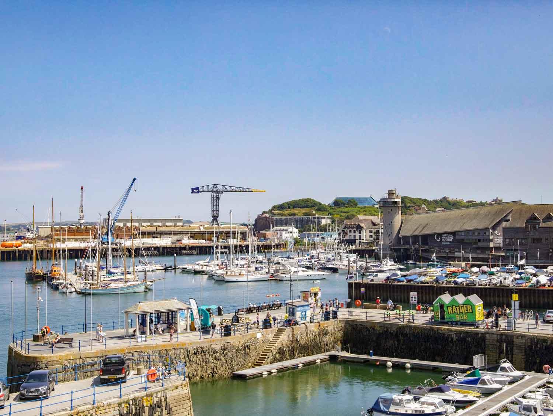 Zawn Haven View of Falmouth Marina