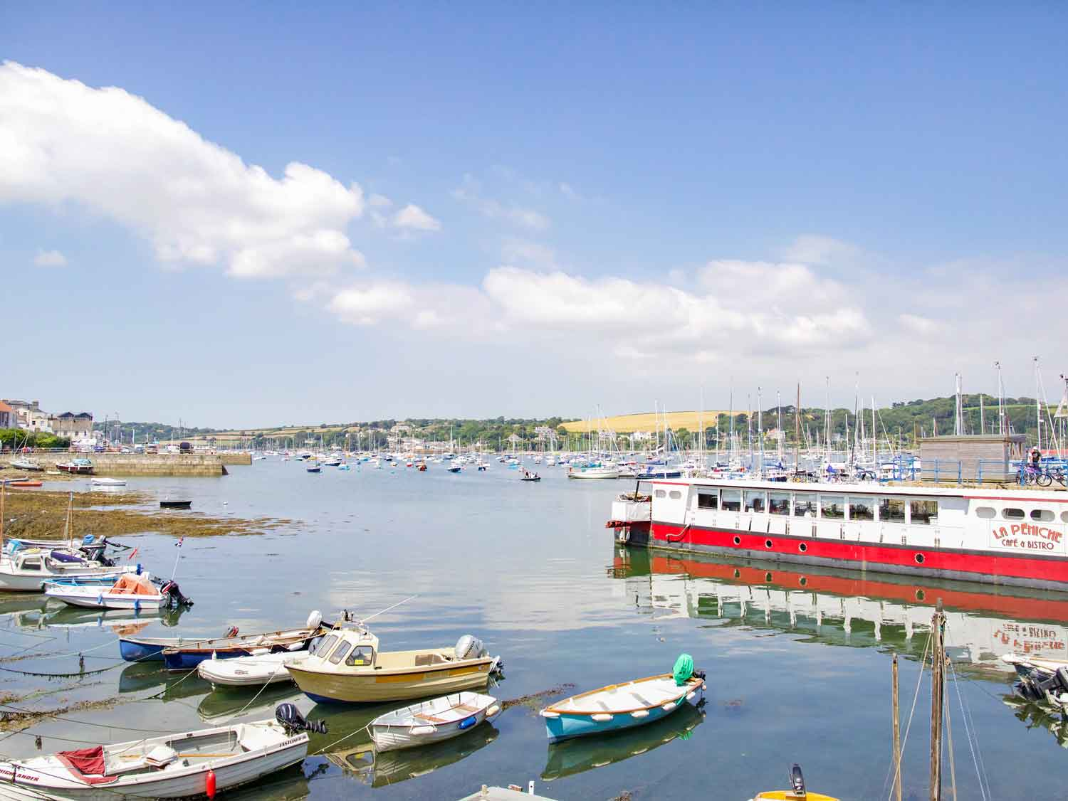 Falmouth Harbour View