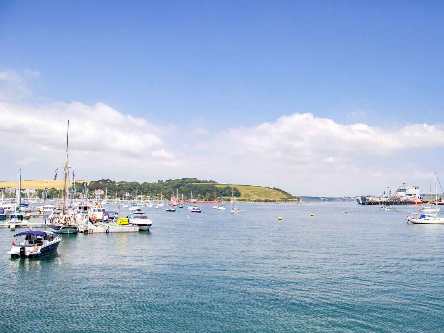 Falmouth Haven Harbour View