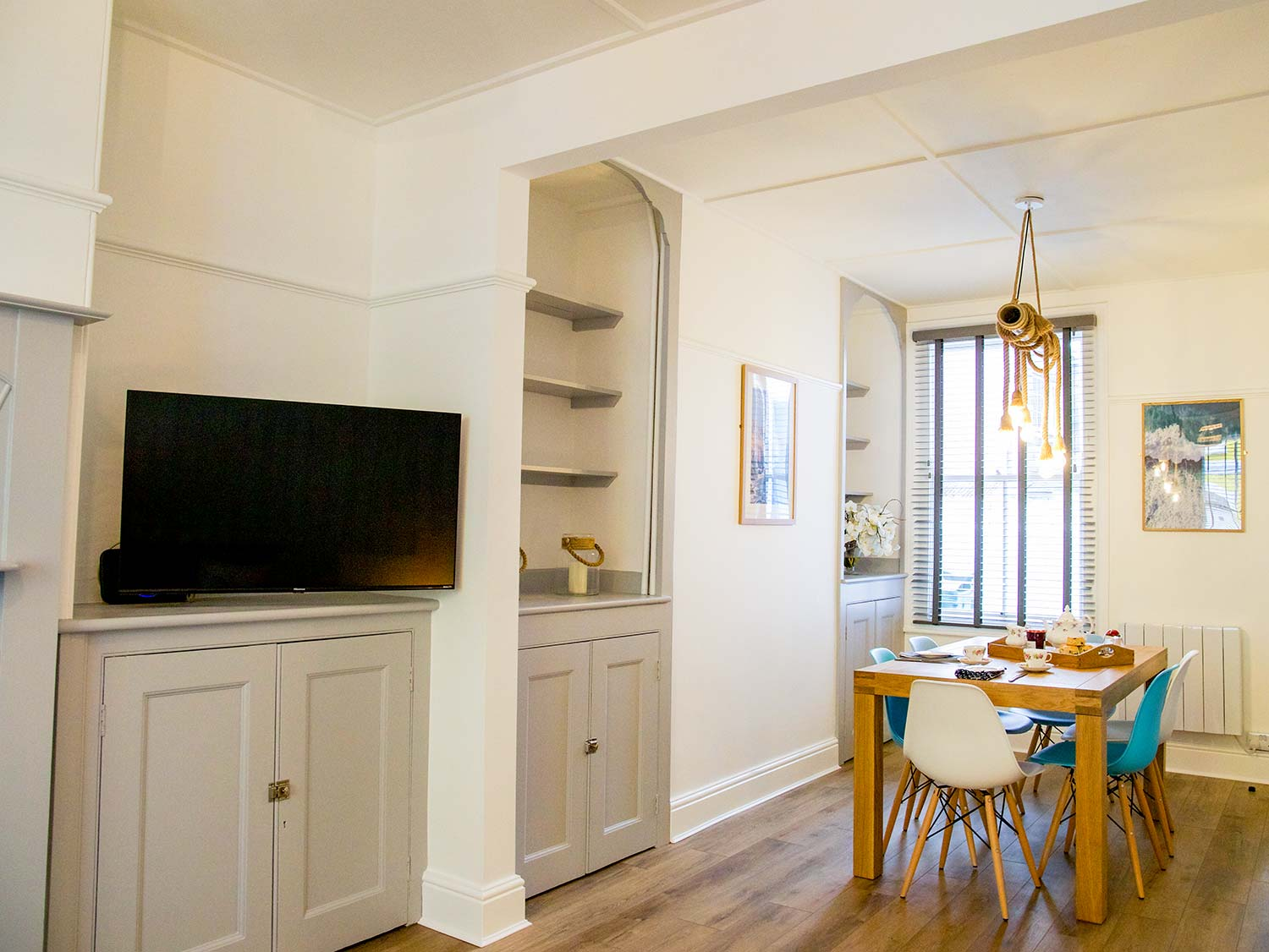 Dining Area at Slipway Cottage